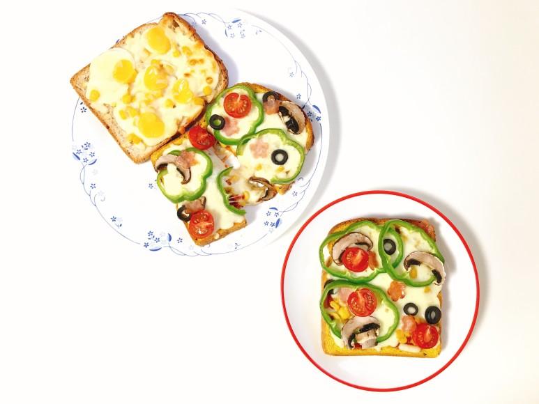 피자토스트랑+양파치즈빵