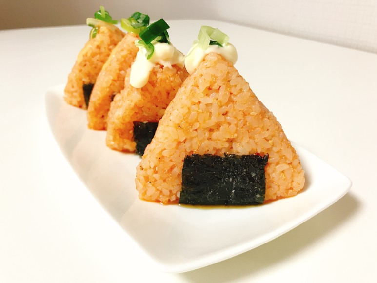 세모세모+명란주먹밥