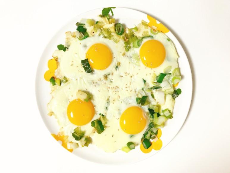 파기름+들기름+계란후라이