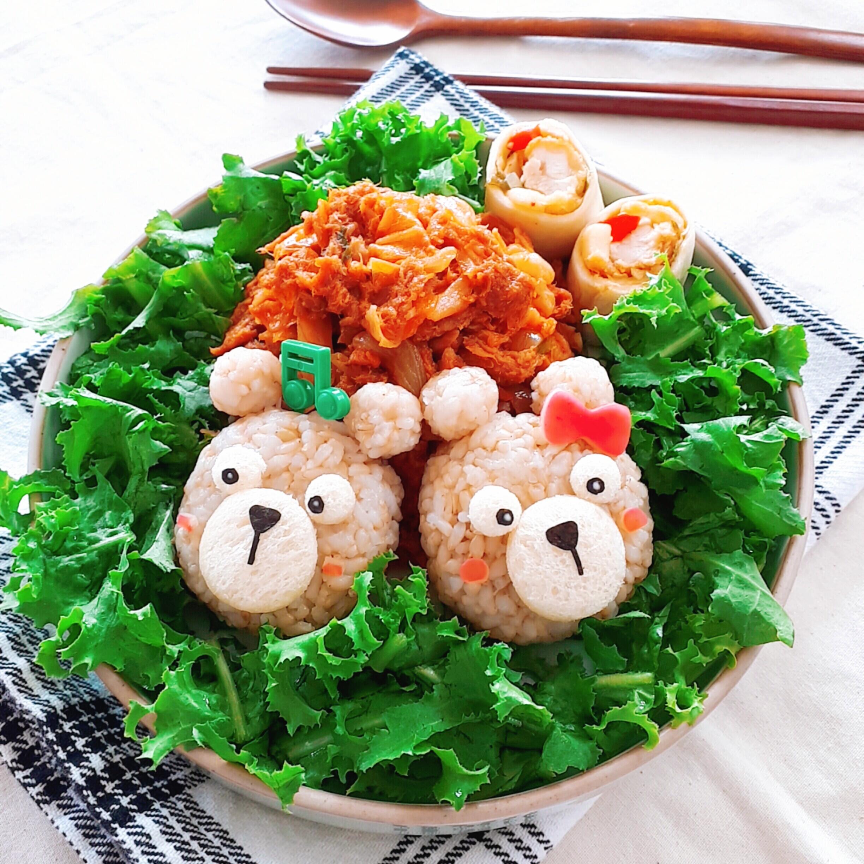 참치양배추덮밥+