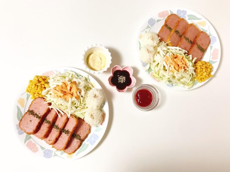여기가+햄까스+맛집~+햄카츠+만들기+