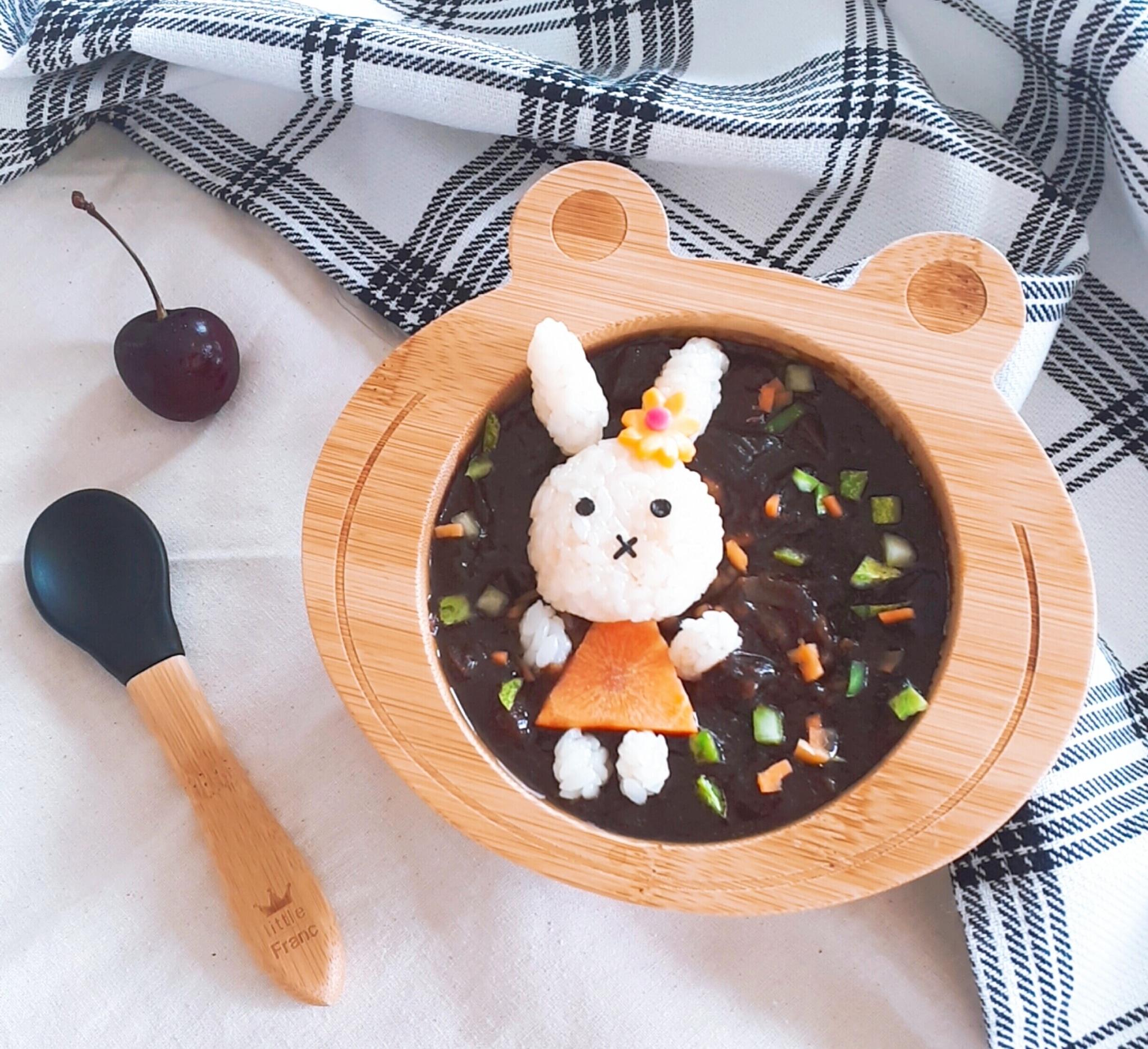 미피+짜장밥