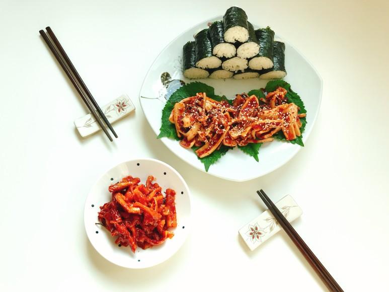 한치+충무김밥