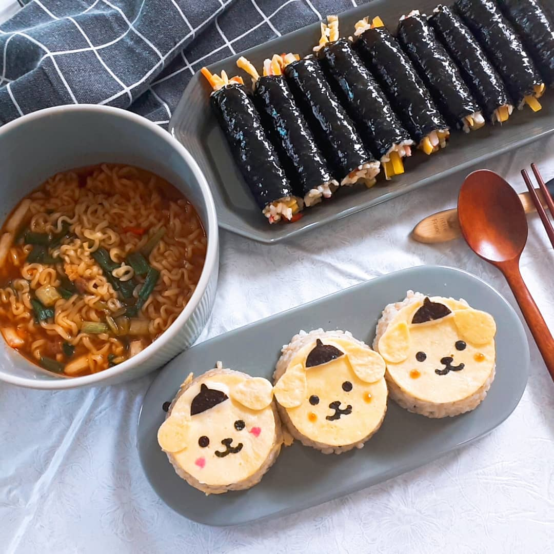 폼폼푸린+주먹밥%26꼬마김밥