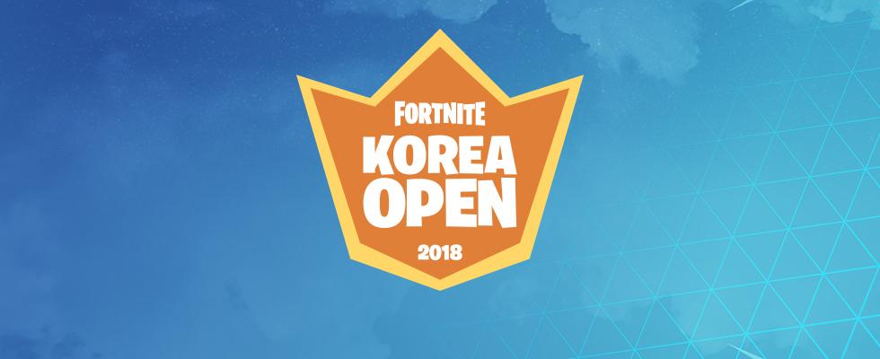 포트나이트 TEAM KOREA 코리아 오픈 최강 실력자 선발전