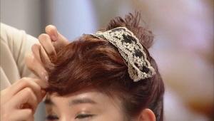 NG롱 헤어 솔루션 3. 매일 매일 똑같은 지겨운 웨이브  - 앞머리가 없어도 가능한 햅번 업스타일