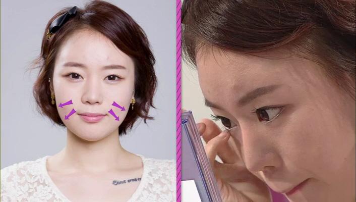 2) 다음은 김선한 베러걸스~ 입체감 있는 피부표현에 신경을 쓰지 않아 얼굴이 퍼져 뵤이는 느낌이 많이 나네요.   증명사진에서 이목구비를 살리지 못한 메이크업이 NG!