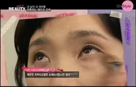 1) 시크한 차도녀가 되기 위한 메이크업 팁! 깨끗한 피부와 강렬한 눈매~ 그러면서도 사랑스런 컬러를 강조해주는 거에요~