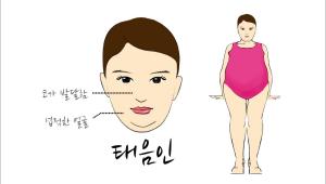 3. 태음인은 코가 발달되고 넙적한 얼굴이 특징이라고 해요.