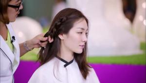 <b>POINT!</b> 땋기보다는 머리를 묶는다는 느낌으로 해주세요.