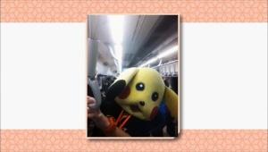 지하철에 나타난 둘리와 피카츄는 오프닝 무대를 꾸며주었던 얀과 줄리안이 직접 했었다고 해요.