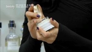 하늬의 기초 케어 마무리는 마유크림! <br>말의 기름인 마유는 오래 전부터 아시아 지역에서 피부 치료제로 사용되었어요