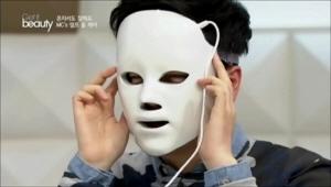 HOT한 이 홈 케어 아이템은 <br>재생 레이저 케어 마스크에요!