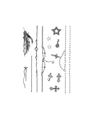 악세사리 타투 스티커