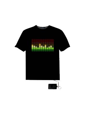 LED 이퀄라이저 셔츠