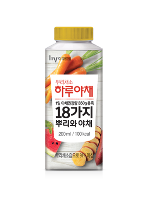 뿌리채소  하루야채 (노란색뚜껑)