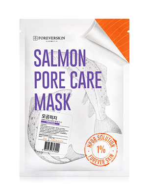 SALMON PORE CARE MASK #모공피지