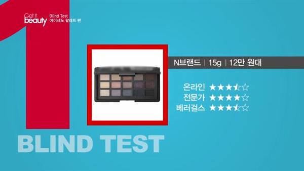 올 봄 최강의 아이섀도 팔레트 1위 제품은?