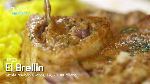 [밀라노] 나빌리오 운하 전통 맛집 < El Brellin >