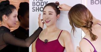 [선공개] 리얼강소라 운동법!! 10분만에 비대칭 어깨 교정 비포 에프터!