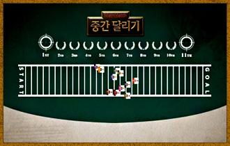1. 플레이어들은 각기 다른 특수 능력을 가진 11개의 캐릭터를 이용해 30칸의 트랙위에서 레이스를 펼친다.
