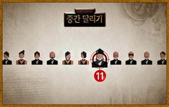 2. 플레이어들은 투표를 통해 11번째로 캐릭터를 뽑을 플레이어를 선택한다. (즉, 11번째로 뽑힌 플레이어는 캐릭터 선택 권한이 없다.)