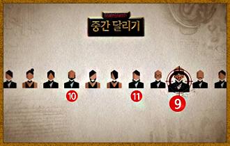 3. 11번째 선택 플레이어부터 자신의 바로 앞 순서로 캐릭터를 뽑을 플레이어를 드래프트 방식으로 지목한다.
