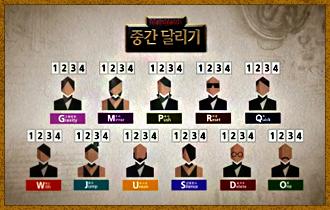 5. 플레이어들의 캐릭터가 모두 정해지면 이동에 사용될 이동카드를 받는다.