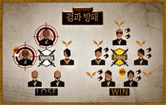 22. 승리 팀은 상의 하에 패배 팀 중 1명을 탈락후보로 선택, 탈락후보는 생명의 징표가 없는 플레이어 중 1명을 지목하여 데스매치에 진촐한다.