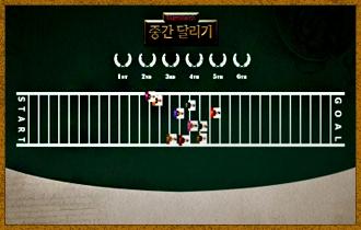 1. '더 지니어스 플레이어'들과 '게스트'들은 각기 다른 특수 능력을 가진 10개의 캐릭터를 이용해 30칸의 트랙위에서 레이스를 펼친다.