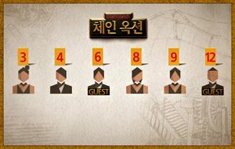 1. 4명의 지니어스 플레이어와 2명의 게스트는 제비뽑기를 통해 1~12까지의 숫자 중 1개를 자신의 고유번호로 갖게 되며 고유번호는 공개되지 않는다.