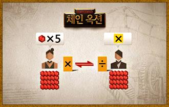 10. 매라운드마다 타일을 모두 나눠 갖고 나면 협상 시간이 주어지며 자신이 보유한 코인을 이용해 숫자와 기호타일을 다른 플레이어와 교환할 수 있다.