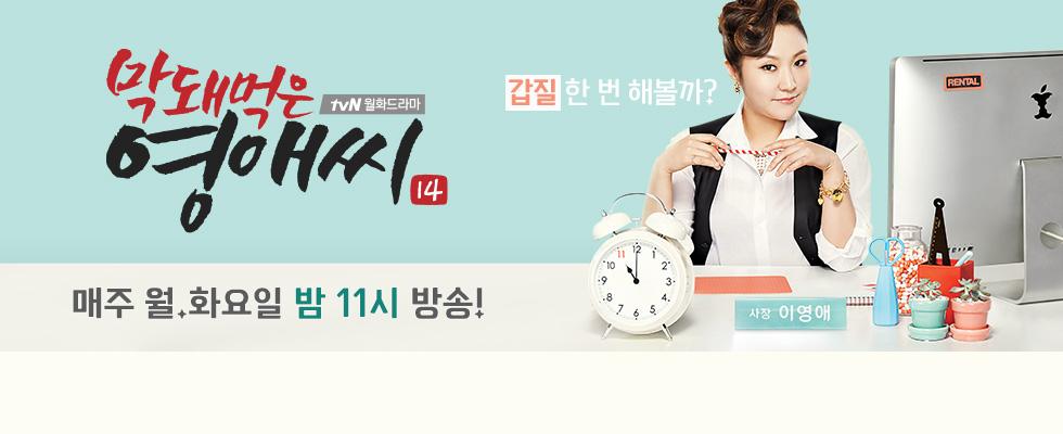 [막돼먹은 영애씨 시즌14] 2015.08.10 ~ 2015.10.05 38세 노처녀 이영애! 벼랑 끝에서 창업에 도전한다!