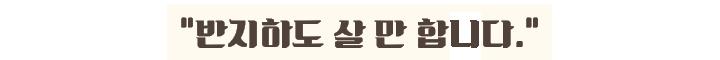 """"""" 반지하도 살 만 합니다. """""""