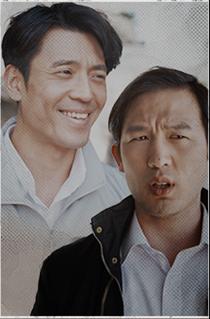 박조사관(김주헌) / 김조사관(정도원)