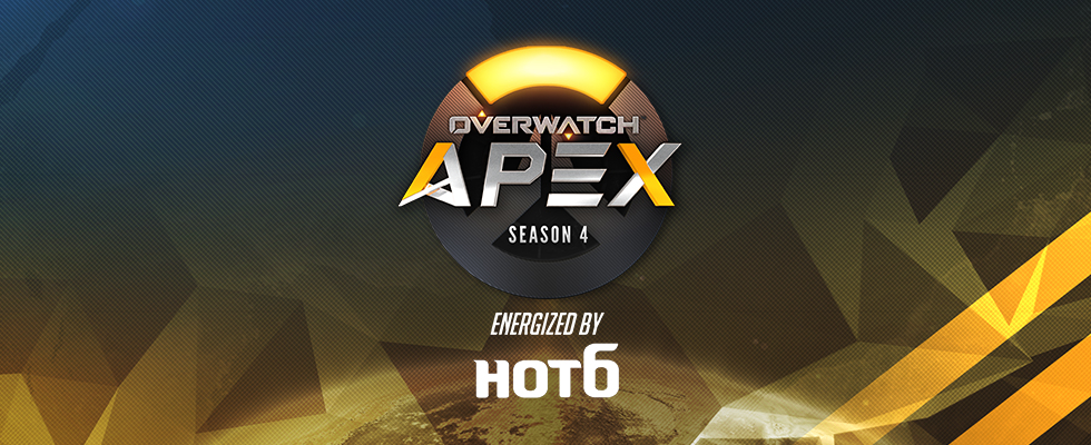 Overwatch APEX Season 4 energized by HOT6 [RO.16] Every MON, WED, FRI. PDT 03:00 AM  / OGN LIVE