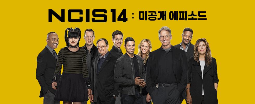 NCIS 14 : 미공개 에피소드|매주 (화) 밤 11시 본방송 최장수 시리즈의 화려한 컴백! <NCIS 14 : 미공개 에피소드>