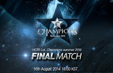 [2014.08.16] LOL Champions summer 2014 Finals