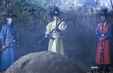 [삼총사] 달향의 묘 앞, 오열 삼총사