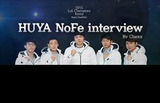 Interview with NoFe, Coach of the HUYA Tigers