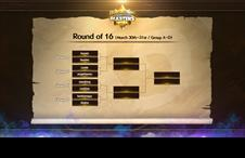 [H/S Masters KOR S1] Round of 16 Match up