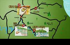 <나의 비밀지도> 1화 : 물길 숲길 그림여행