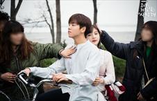결림의 키스신 비하인드!
