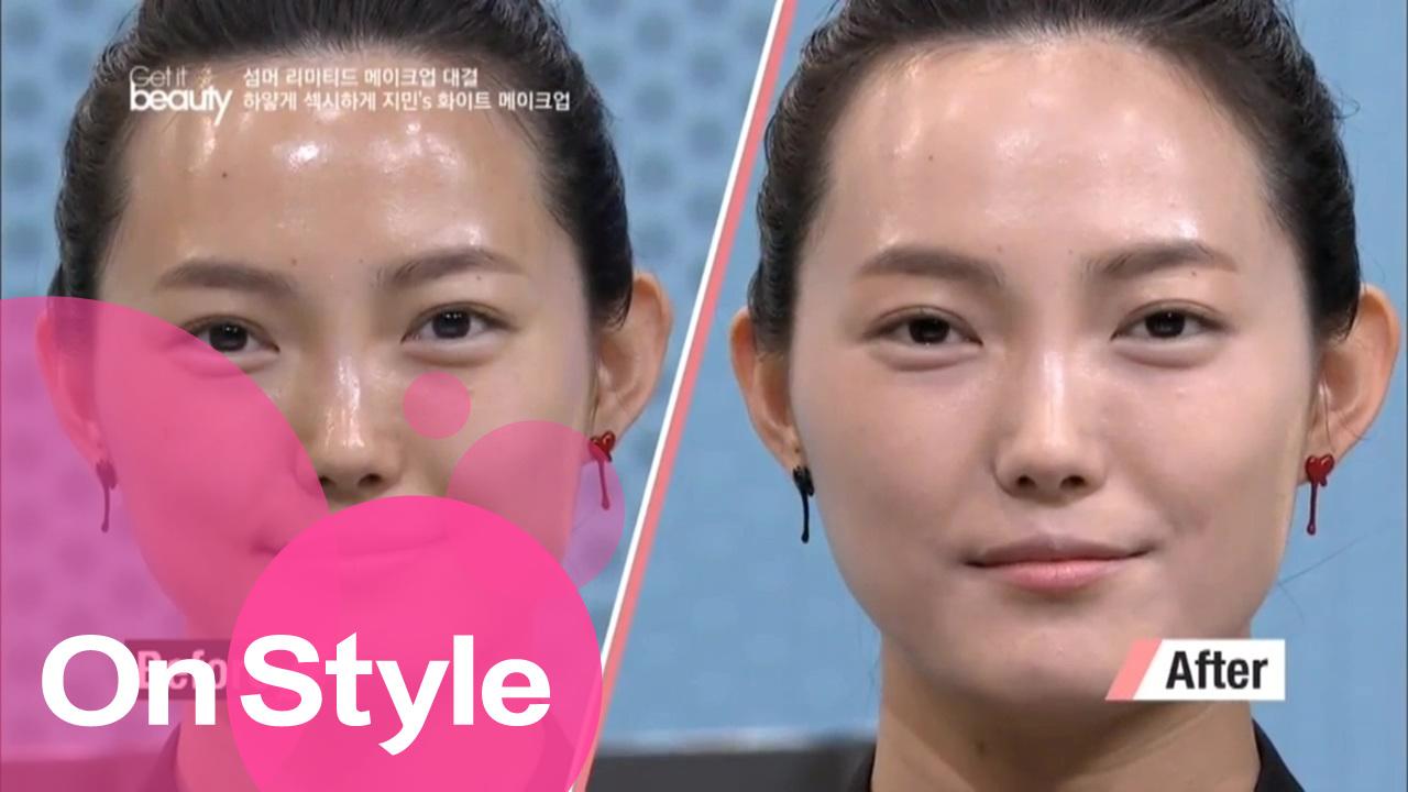 [겟잇뷰티 2014 17회] Ⅱ. 지민&박태윤 : 화이트 메이크업