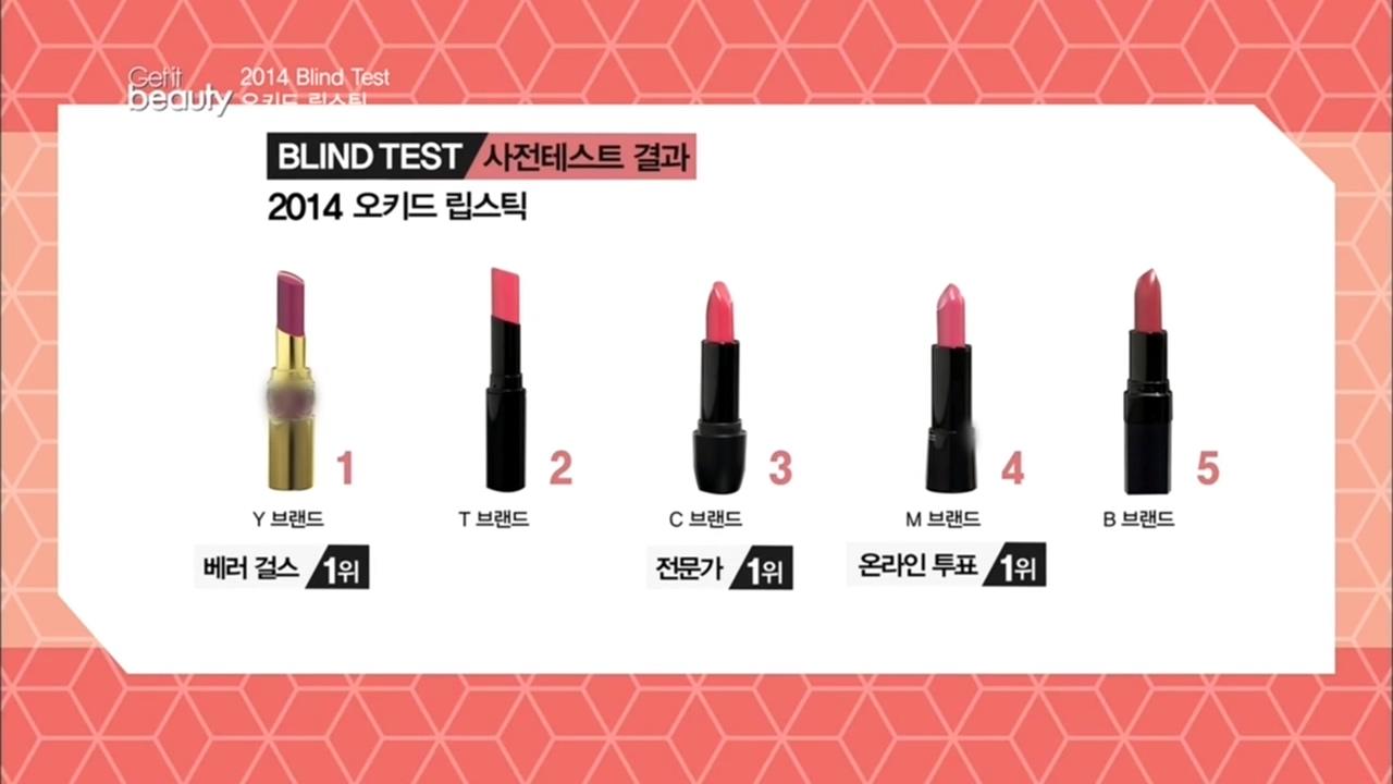 [겟잇뷰티 2014 27회] 화려하고 우아한 컬러! 오키드 립스틱 1위 제품은?