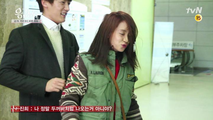 [응급남녀] 메이킹#14 창민&진희, 업고 소동 편