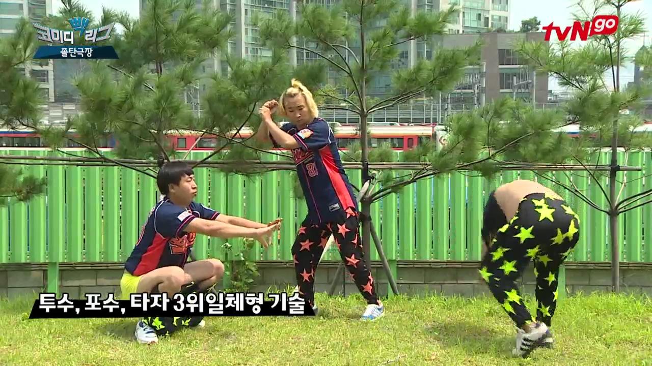 [코미디빽리그 4라운드] 3위 - 졸탄극장_야구동영상